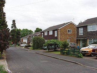 Addlestone - Typical Houses of Row Hill