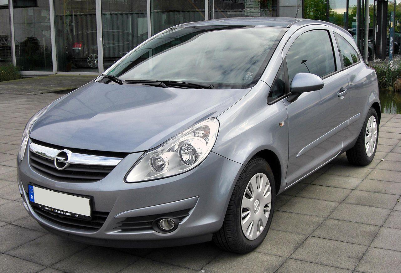 Opel Corsa trzydrzwiowy (2006-2010)