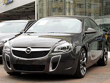 Opel Insignia – Wikipedia, wolna encyklopedia