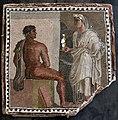 Orestes and Iphigenia mosaic - Palazzo dei Conservatori - Musei Capitolini - Rome 2016.jpg