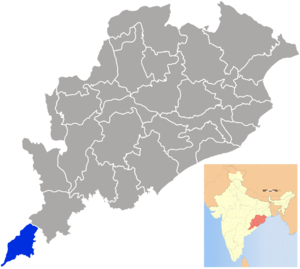 Malkangiri district - Image: Orissa Malkangiri