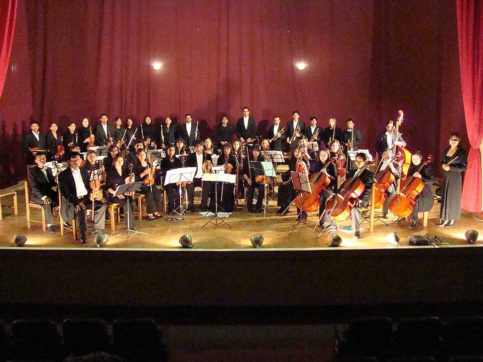 Orquesta Sinf%C3%B3nica Juvenil de Oruro