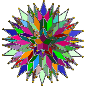 4-polytope - The great grand stellated 120-cell is the largest of 10 regular star 4-polytopes, having 600 vertices.