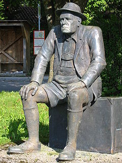 Oskar Maria Graf German author