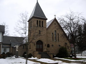 Our Lady of Angels Catholic Church South Street Historic District Jan 10.jpg