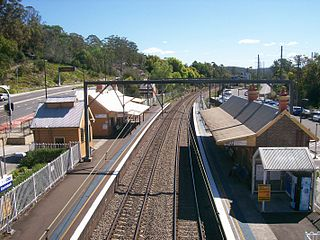 Ourimbah railway station