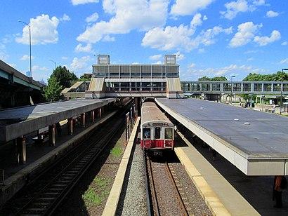 Cómo llegar a Jfk/Umass en transporte público - Sobre el lugar