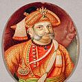 Oval portrait of Sarabhoji II Raja of Tanjore.jpg
