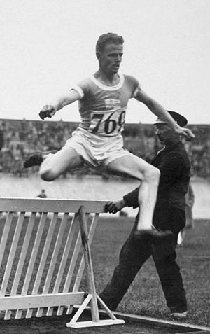 Ove Andersen (athlete) - Andersen at the 1928 Olympics