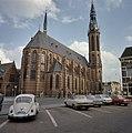 Overzicht van de noordoostgevel met kerktoren - Groningen - 20380547 - RCE.jpg