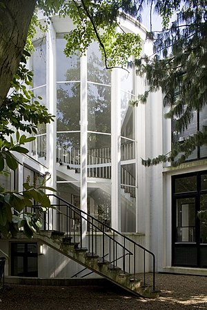 Jan Van Eyck Academie - Image: Overzicht van de toegang aan het binnenhof Maastricht 20532257 RCE