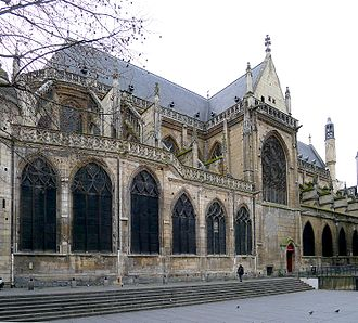 Church of Saint-Merri - Saint-Merri, north facade