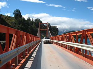 Carretera Austral - General Carrera Bridge.