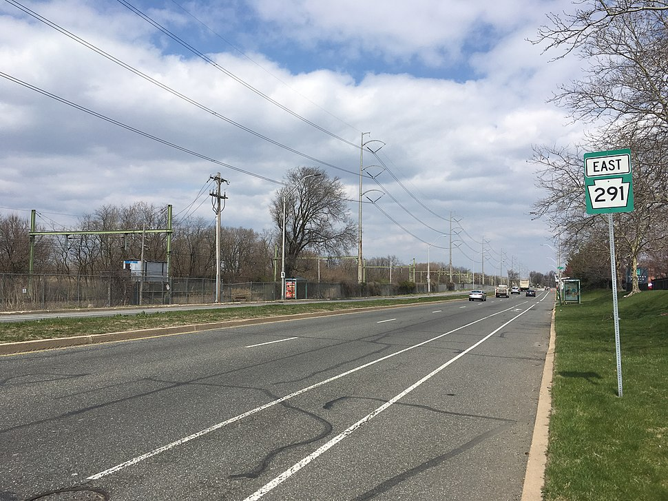 PA 291 EB past I-95 exit 12B
