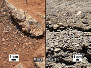 PIA16189 fig1-Curiosity Rover-Rock Outcrops-Mars and Earth