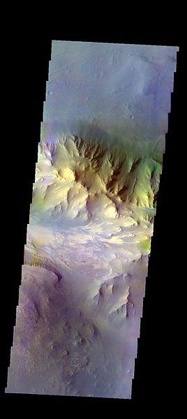 File:PIA21308 - Coprates Chasma - False Color.jpg