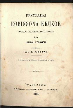 Przypadki Robinsona Crusoe Epub