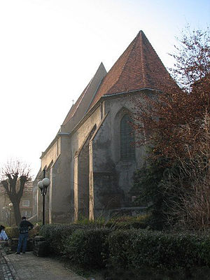 Wodzisław Śląski - Medieval Minorite Church now Evangelical Church dedicated  to the Holy Trinity (pol. Kościół św. Trójcy)