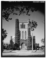 PRINCIPAL (EAST) SIDE - Trinity Episcopal Church, 708 Twenty-second Street, Galveston, Galveston County, TX HABS TEX,84-GALV,17-1.tif