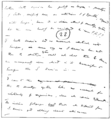 PSM V76 D034 Page of darwin's handwriting prior to 1859.png