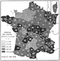 PSM V79 D620 Birth and death rates by department in france.png
