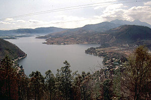 Water resources management in Guatemala - Lake Amatitlán.