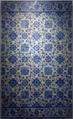 Painel de azulejos de padrão camélia (Lisboa, c. 1660-80) - Palacete Silva Amado (MNAz inv. 7901 Az).png