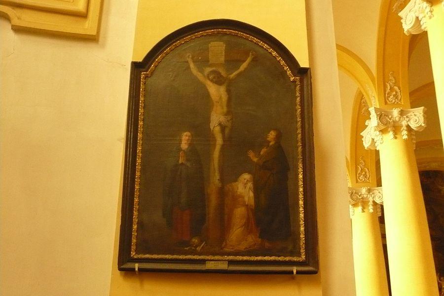 Painting by Pieter de Grebber in Église Saint-Jacques de Lunéville
