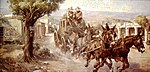 Painting of stagecoach by Edward Joseph Holslag.JPG