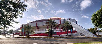 Palacio de los deportes de Santiago de los Caballeros.