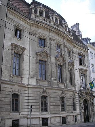 Palais Rothschild (Prinz-Eugen-Straße) - The Palais Rothschild in the Prinz-Eugen-Straße, Vienna.
