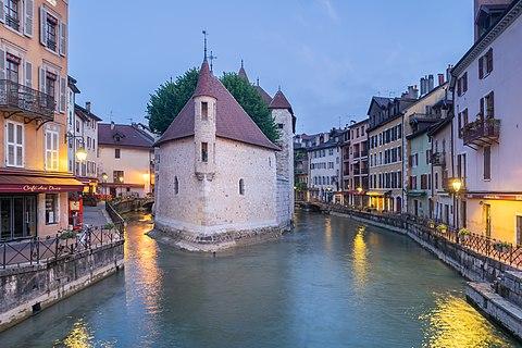 Palais de l'Isle in Annecy, Haute-Savoie, France