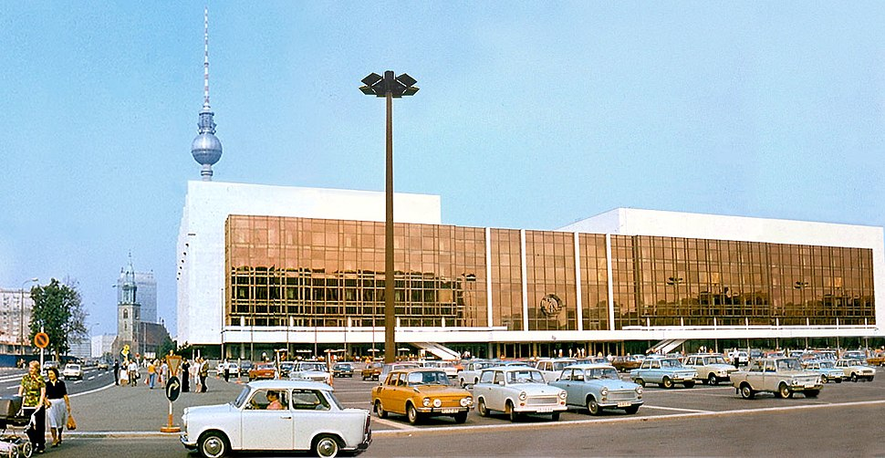 Palast der Republik DDR 1977