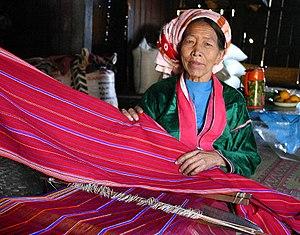 Palaung people - Image: Palaung Woman Kalaw Shan Myanmar