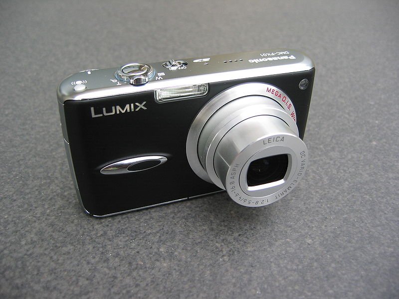 File:Panasonic Lumix DMC-FX01 black (front).jpg