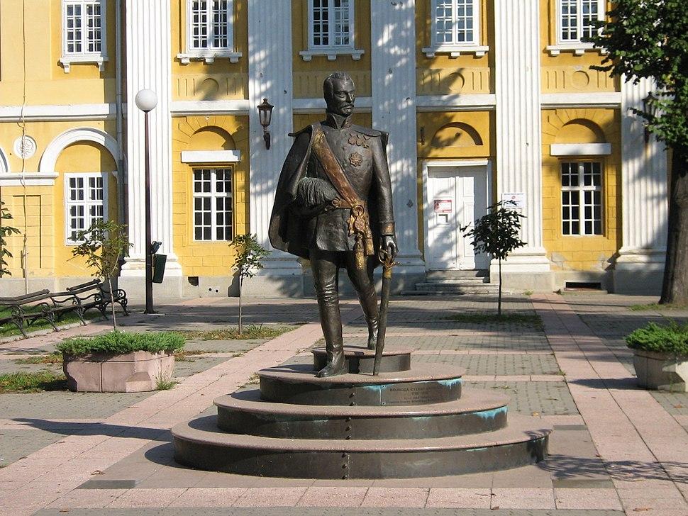 Pancevo-duke Stevan Supljikac statue