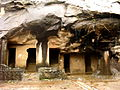 Pandavlena Caves in Nashik.JPG