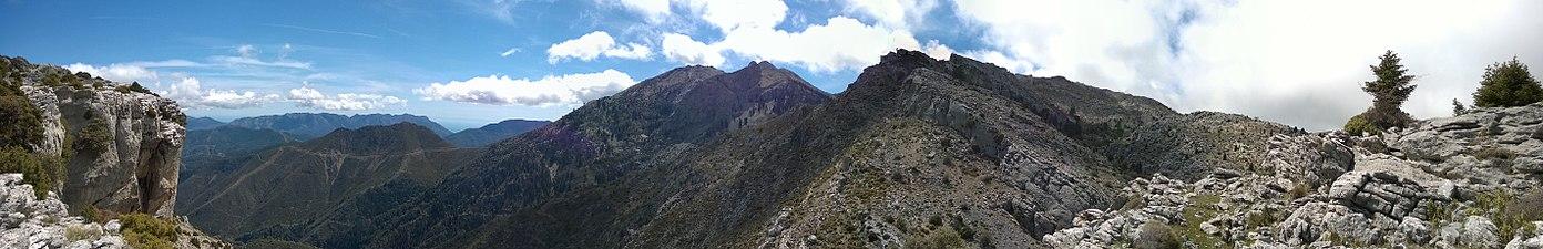Panorámica del entorno del Tajo de la Caína - Parque Natural Sierra de las Nieves.jpg