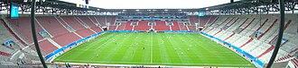 FC Augsburg - Image: Panorama Impuls Arena vor NIG JAP