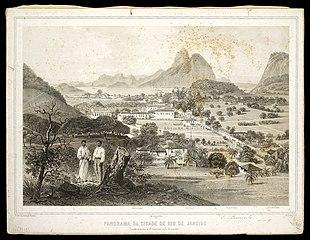 Panorama da cidade de Rio de Janeiro