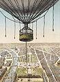 Panorama de Paris - Vu de la nacelle du grand ballon captif à vapeur de la cour des Tuileries.jpg