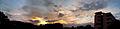 Panoramic view of Sunset time at Madhurawada.jpg