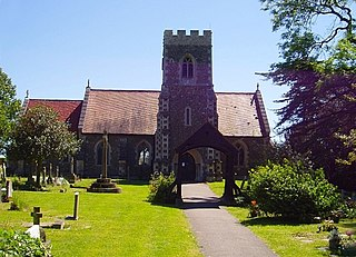 Papworth Everard village in the United Kingdom
