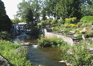 Charlesbourg, Quebec City - Image: Parc Des Moulins Québec