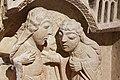 Paris - Musée de Cluny - Chapiteau engagé - Visitation, Nativité avec le prophète Isaïe - 004.jpg
