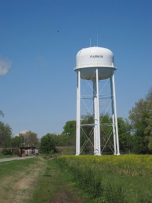 Parkin, Arkansas - Image: Parkin AR 2012 03 019
