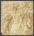 Parmigianino - Putti portant des brassées de feuillages, INV 6439, Recto.jpg