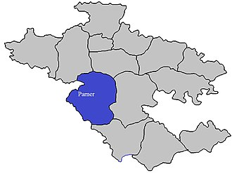 Parner taluka - Image: Parner Tehsil in Ahmednagar District