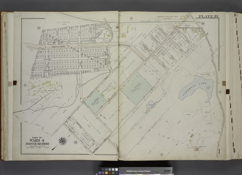 File:Part of Ward 4. (Map bound by Staten Island Rail Road, Fingerboard Road, Old Town Road, Scott Ave, Rambler Road, Benton Ave) NYPL1646277.tiff
