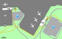 Åbo flygplats-Reguljärt flyg (utrikes)-Fil:Passenger terminals at Turku airport 001